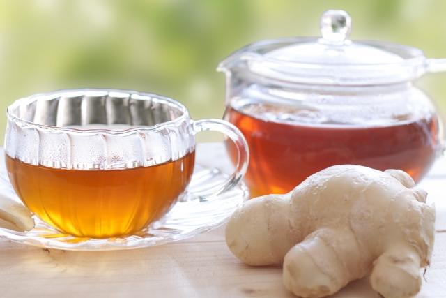 生姜パウダー生姜紅茶画像