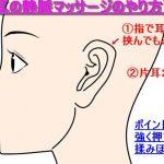 静脈マッサージで於血したゴースト血管を改善!耳と足の揉み方のコツ!